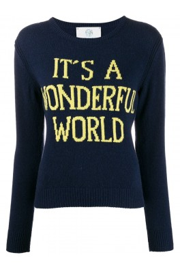 ALBERTA FERRETTI Blue Sweater