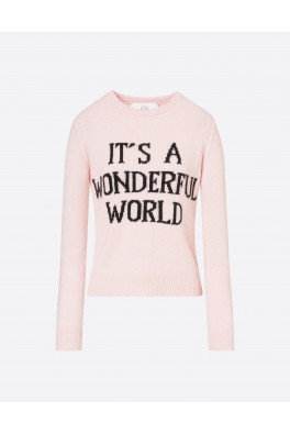 ALBERTA FERRETTI Pink Wonderful W. Sweater