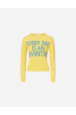 ALBERTA FERRETTI Yellow Sweater