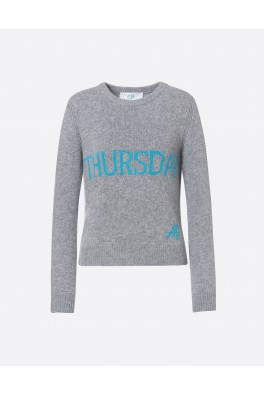ALBERTA FERRETTI Thursday Grey sweater