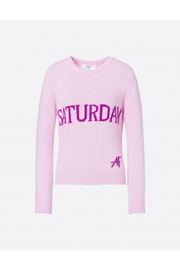 ALBERTA FERRETTI Saturday Pink Grsweater
