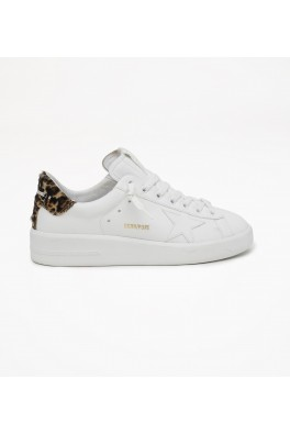 GOLDEN GOOSE Pure Star Leather Upper Leopard