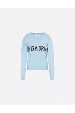 ALBERTA FERRETTI Life is a Dream Blue Sweater