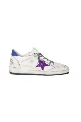 GOLDEN GOOSE Ballstar Purple Star