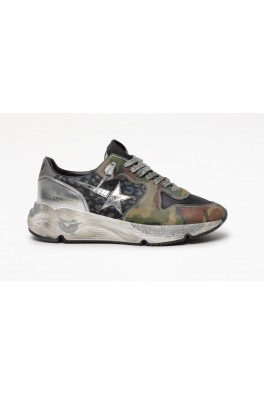 GOLDEN GOOSE RUNNING SOLE Camouflage