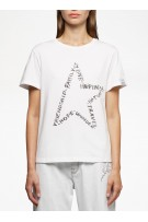 GOLDEN GOOSE T-shirt Ania S/S front Star