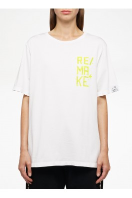 "GOLDEN GOOSE T-shirt AIRA BOYFRIEND ""REMAKE"""