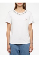 GOLDEN GOOSE T-shirt ANIA  G STAR STRASS EMBROIDERY