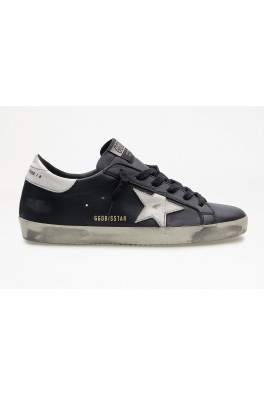 GOLDEN GOOSE Superstar Shiny Leather Star and Heel