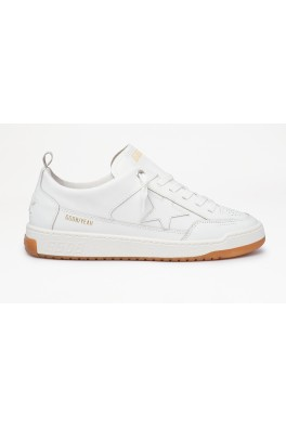 GOLDEN GOOSE YEAH LEATHER UPPER AND STAR