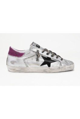 GOLDEN GOOSE SUPERSTAR Laminated with Suede STAR and HEEL