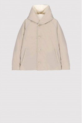 OOF Reversible PADDED Jacket col. White/Sand