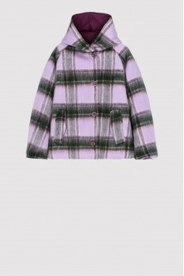 OOF Reversible PADDED Jacket col. Lilla/Wine
