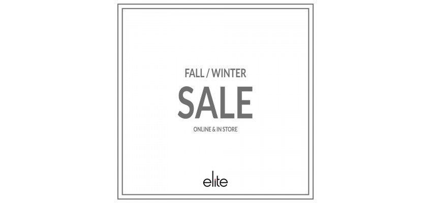 Fall Winter SALE Online&in Store!!