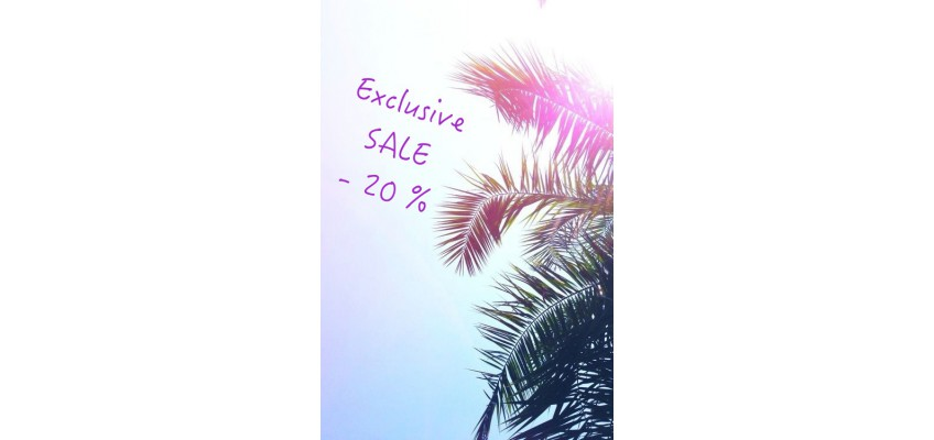 Exclusive sale for online order!